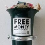 Free money box, Köln 2017