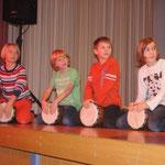 Kulturpanorama Garsten, Nov. 2012, unsere Trommelgruppe