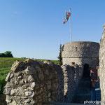 Blick von der Mauer auf den Nordwestturm
