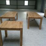 Tables chêne massif