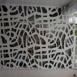 Séparation ajourée PVC