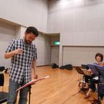 2017年7月4日 コスモスシアター小ホールにて長岡克己氏指導3
