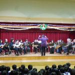 2014年12月16日 幼稚園で演奏2