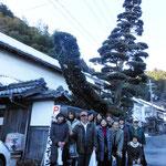 2012年2月21日天橋立ツアー女性杜氏の(向井酒造)前