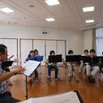 2016年8月2日 練習風景 新指揮者参上2