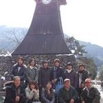 2012年2月21日天橋立ツアー豊岡にて