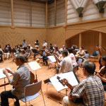 2013年5月26日 泉の森ホールでリハーサル3