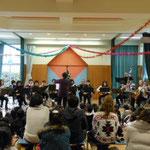2012年12月18日 幼稚園で演奏会