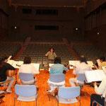 2014年5月18日 第11回演奏会リハーサル 泉の森ホール3