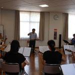 2016年8月2日 練習風景 新指揮者参上
