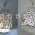 Плетеный потолочный светильник, любых размеров, любого дизайна
