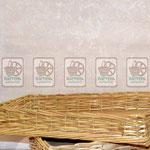 Плетёные лотки для продуктов питания, низкая кромка