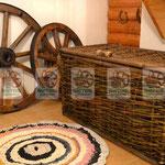 Плетёный ящик с крышкой, любых размеров