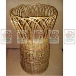 плетёные напольные хлебные корзины, багетницы, плетеная багетница