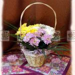 Цветочные плетеные корзины, любых размеров и форм