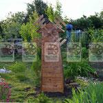 Деревянная мельница любого размера для сада, дачи, придомого участка