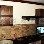 деревянная кухня, кухоннный гарнитур под старину