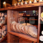 спил, деревянный декор
