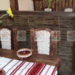 Деревянные и плетёные элементы для кафе и баров, в старинном стиле