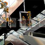 Плетёное оформление развлекательных  и торговых центров