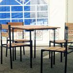 деревянная мебель с прочным основание для кафе и ресторанов