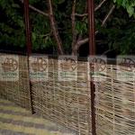 Плетёное решение для террасы