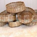 Корзины:овальные, круглые для оптовых заказчиков, любых размеров, вкладываемые друг в друга