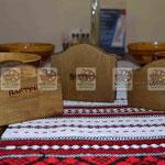 Оригинальная деревянная салфетница под старину для дома, кафе и ресторана
