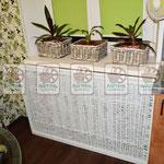 плетёная решетка для радиаторов отопления