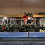 плетеный рождественский венок, венок из прутьев