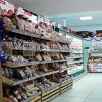 плетеная торговая точка, плетеные лотки для хлеба