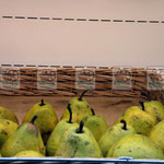 плетеный лоток для фруктов