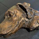 Kunstguss Bronze Hund