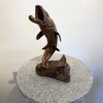 Kunstguss Bronze Fisch