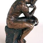 Kunstguss Bronze Denker