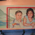 Marta y Pablo. Pastel