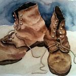Schuhe - Aquarell
