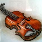 Violine - Zeichnung