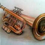 Trompete - Zeichnung