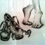 Ballett - Zeichnung
