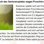 Tolle Geste und toller Kommentar des FC Embrach
