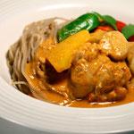 純麺家タイレッドカレーヌードル(大麦麺)