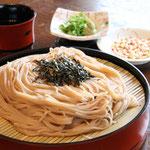 純麺家ざる大麦麺
