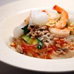 純麺家アジアン海鮮サラダ