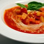 純麺家イタリアン・スープミネストローネ麺