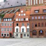 Altstadthäuser vor St. Nikolai