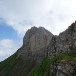 Pointe du Midi versant Sud-Ouest