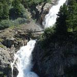 Passerelle au-dessus de la cascade n°3