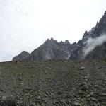 Moraine glacier de Blaitière