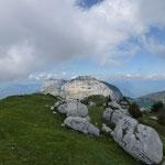 Au sommet du Pinet, vue sur le Granier